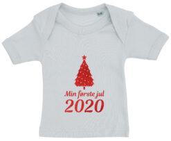 baby t-shirt min foerste jul 2020 blaa