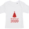 baby t-shirt min foerste jul 2020 hvid