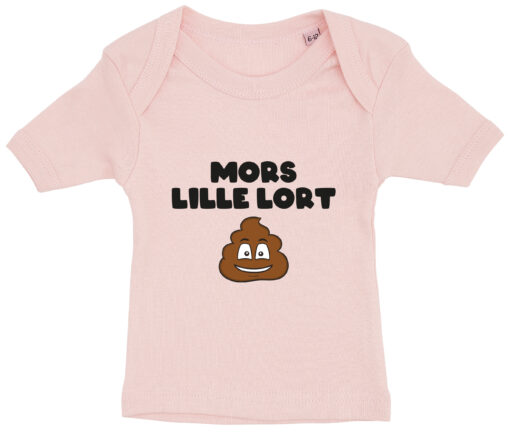 baby t-shirt mors lille lort lyseroed