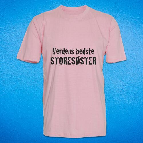 boerne t-shirt med tryk