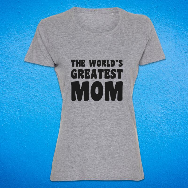 t-shirts til kvinder med tryk
