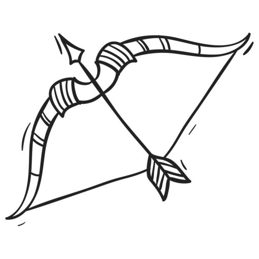 Wallsticker stjernetegn skytten