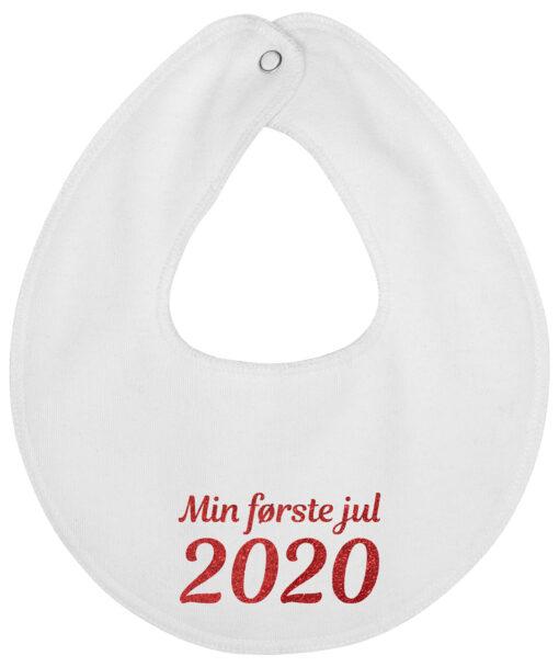 rund hagesmæk min foerste jul 2020 hvid