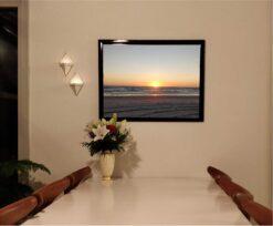 Blokhus strand solnedgang