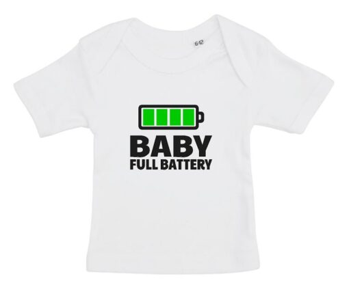 Baby T shirt hvid