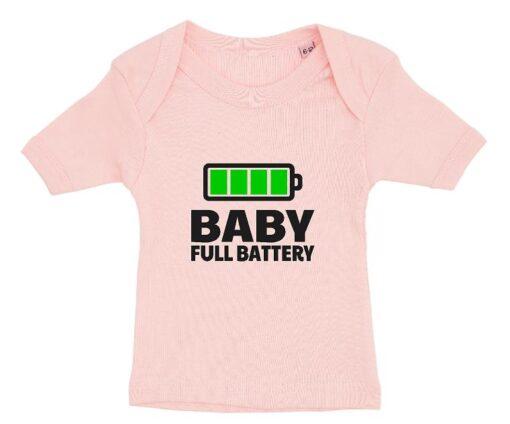 Baby T shirt light red