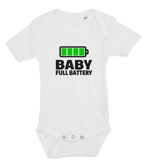 Baby body hvid