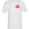 T shirts Hvid med Dannebro 1 scaled e1622098518327