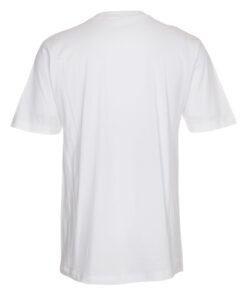 T shirts Hvid med Roed tekst EM2021 scaled e1622098968938