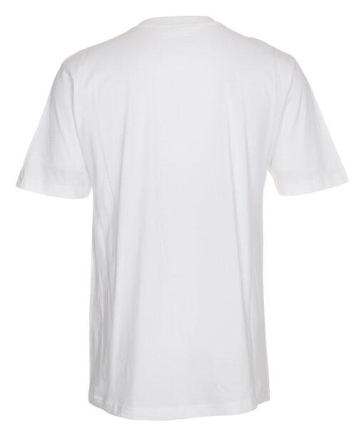 T shirts Hvid med Roed tekst EM2021 scaled e1622098988646